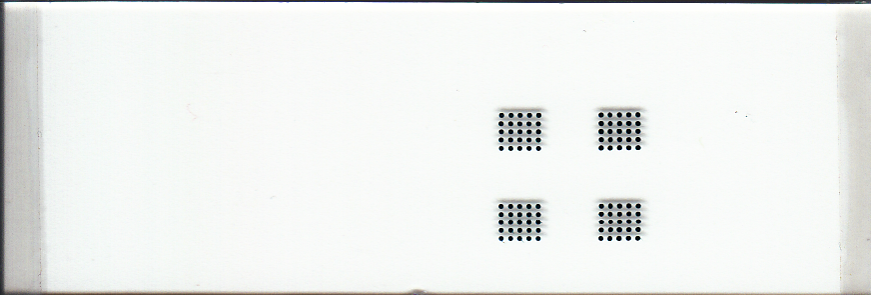 350um Microarray Printed with uArrayer