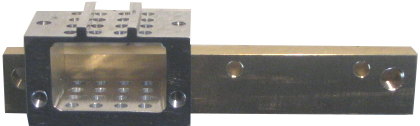 Adapter for installing LabNext microarray Head in place of ArrayIT head