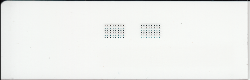 200um Microarray Printed with uArrayer